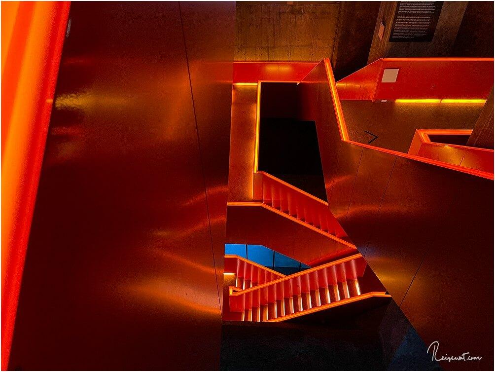 Auf dem ersten Blick ein Wirrwarr aus Treppen und Gängen