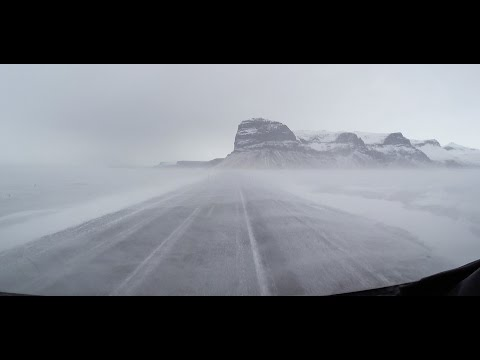 Iceland Ring Road Winter Driving