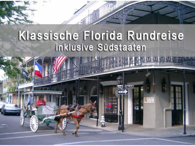Titelbild Florida Südstaaten