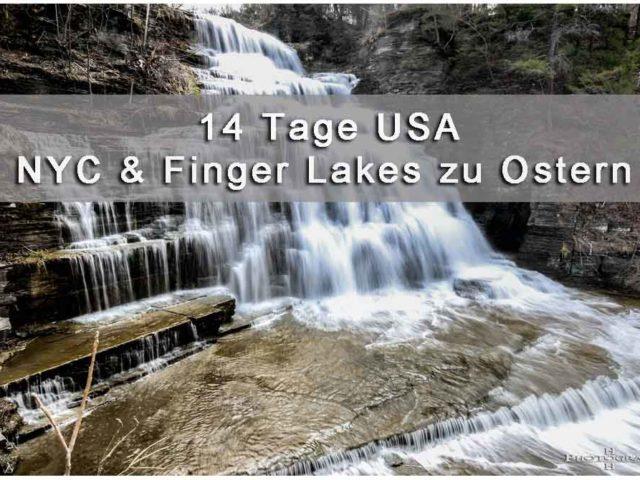 New York City und Finger Lakes Titelbild