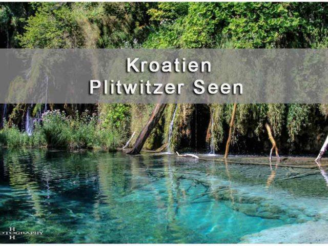 Titelbild Plitvicer Seen