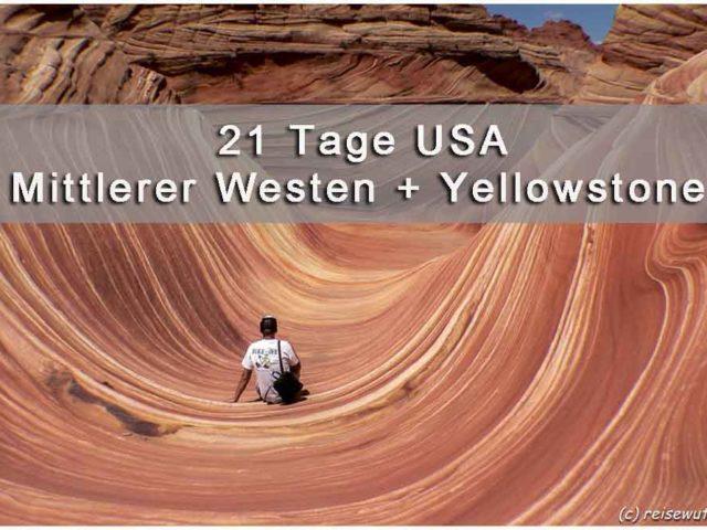 Titelbild Mittlerer Westen und Yellowstone