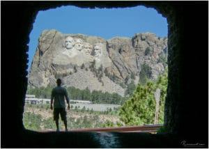 Mount Rushmore Köpfe
