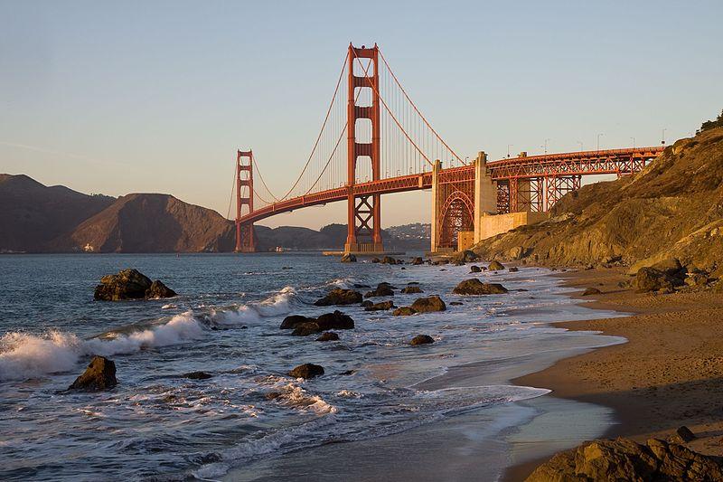 Start für einen Camping Trip könnte San Francisco sein
