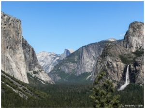 Tunnel View Point am Nachmittag (Yosemite National Park)