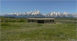 Cunningham Cabin im Grand Teton National Park