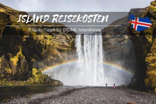 Reisekosten Island Sparen