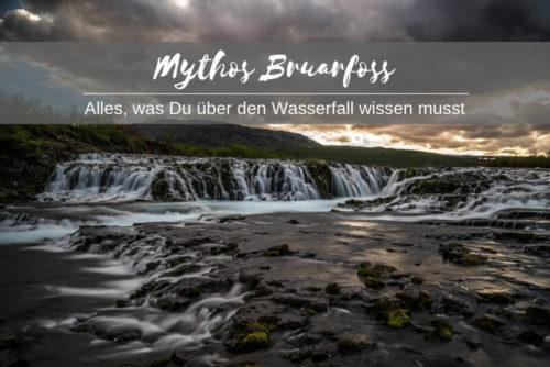 Mythos Bruarfoss - das musst du wissen über den Wasserfall
