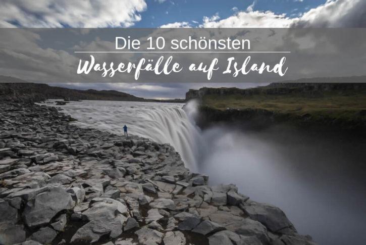 Top Ten Wasserfälle Island