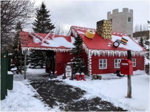 Akureyri Haus vom Weihnachtsmann