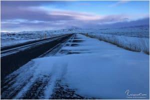 Auf dem Weg zum Mývatn