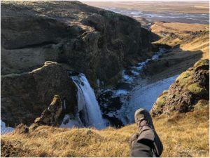 No Name Wasserfall Seljalandsheidi