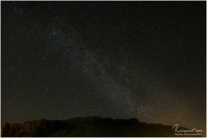 Milchstraße bei Vik