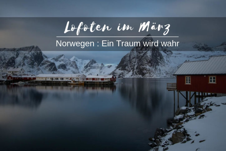 lofoten im maerz winter