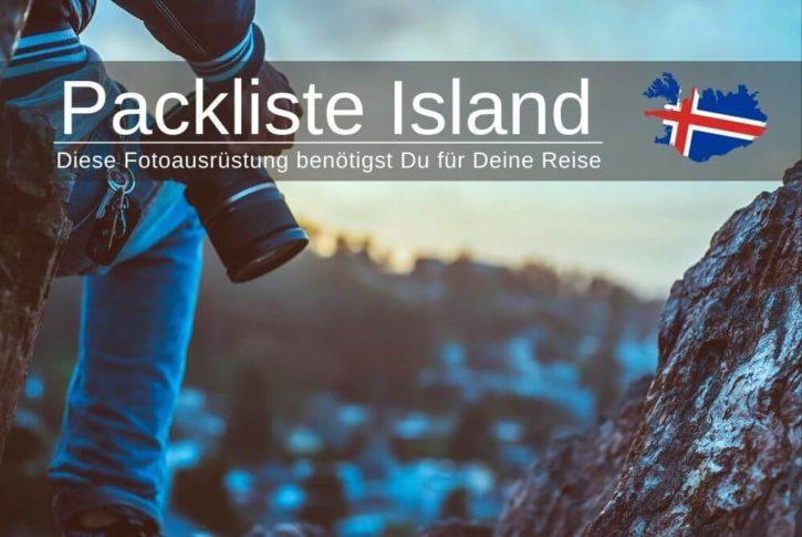 Packliste Island Fotoausruestung