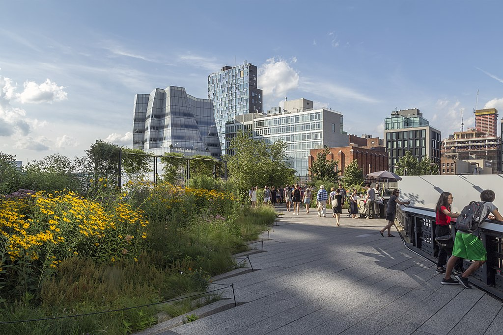 Highline and IAC Building NY1