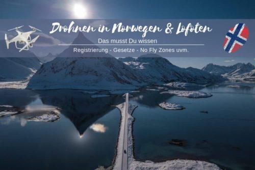 Drohnen Norwegen Gesetze