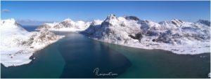 Aerial Lofoten