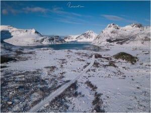 Zurück vom Nusfjord Richtung Skagsanden