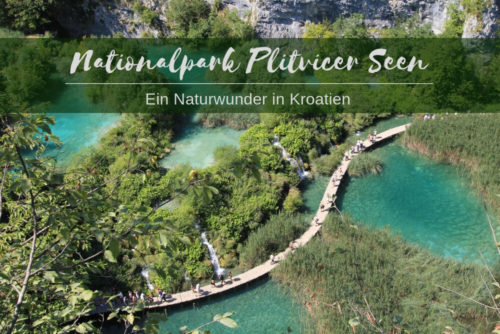 Plitvicer Seen Kroatien | Plitwitzer Seen