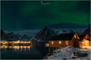 Polarlichter bei Hamnøy