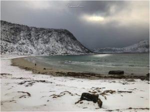 Vik Beach bei Haukland