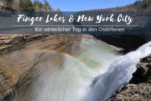 Finger Lakes New York City Ostern