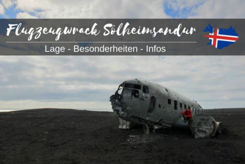 Flugzeugwrack Island Sölheimsandur