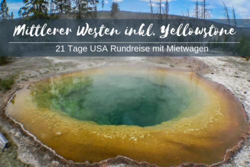 Mittlerer Westen Und Yellowstone