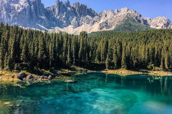 Karer See Südtirol 1000px 600x400px