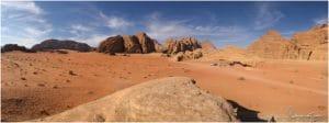 Wadi Rum Nähe Mushroom Rock