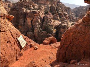 Kurz vorm Ende des Al Khubtha Trails