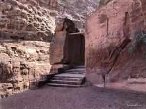 Das Tor am unteren Ende des Indiana Jones Trails