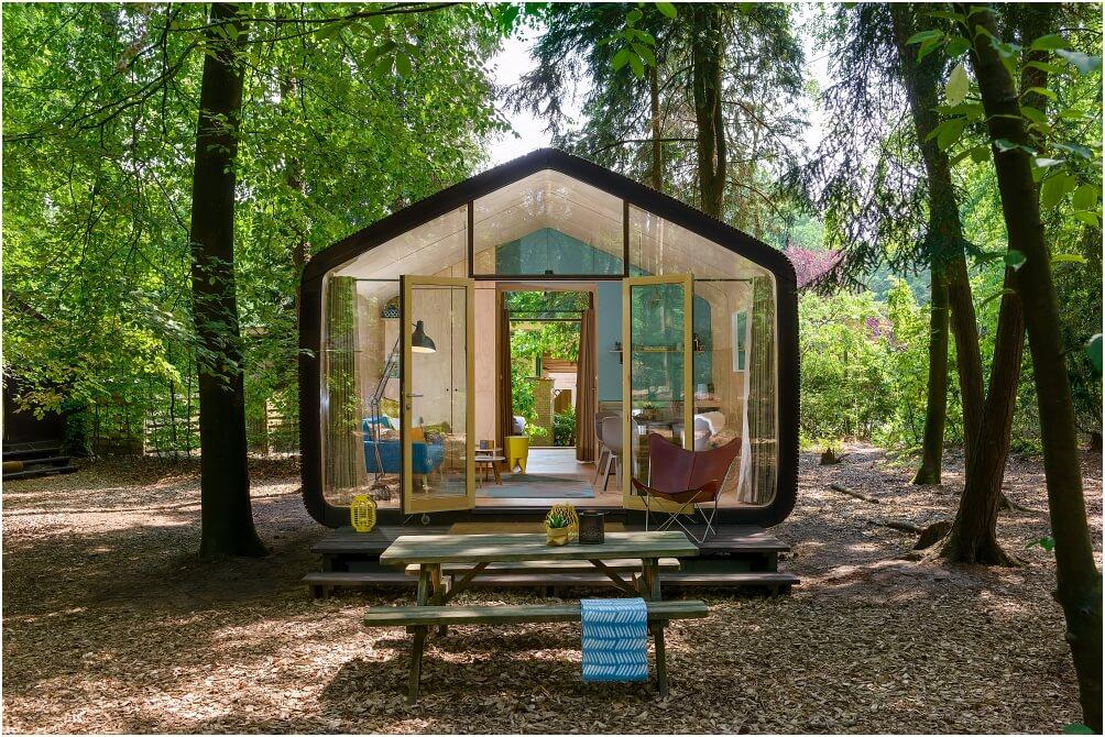 Naturhäuschen » Nachhaltiger Urlaub mitten im Grünen