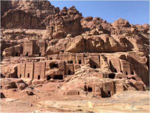 Street of Fassades in Petra