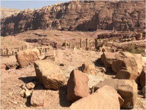 Säulenstraße in Petra