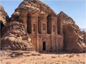 Monastery Ad-Deir in Petra
