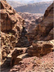 Ausblick während der Wanderung zur Monastery