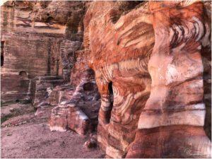 Streifen im Fels neben der Königswand