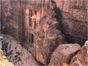 Treasury Overlook Petra Jordanien