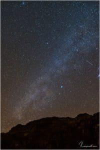 Sternenhimmel im Wadi Rum