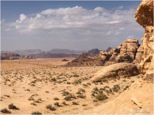 Wadi Rum zur Mittagszeit