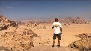 Ausblick ins Wadi Rum genießen