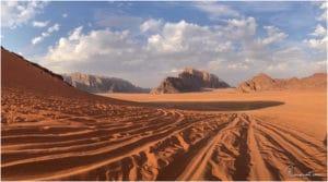 Wadi Rum zur Golden Hour