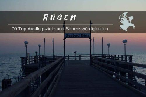 Sehenswuerdigkeiten auf Rügen inkl.Karte