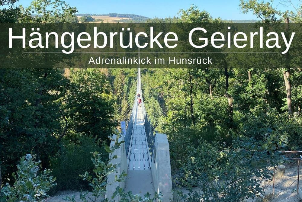 Haengebruecke Geierlay Suspension Bridge Hunsrueck