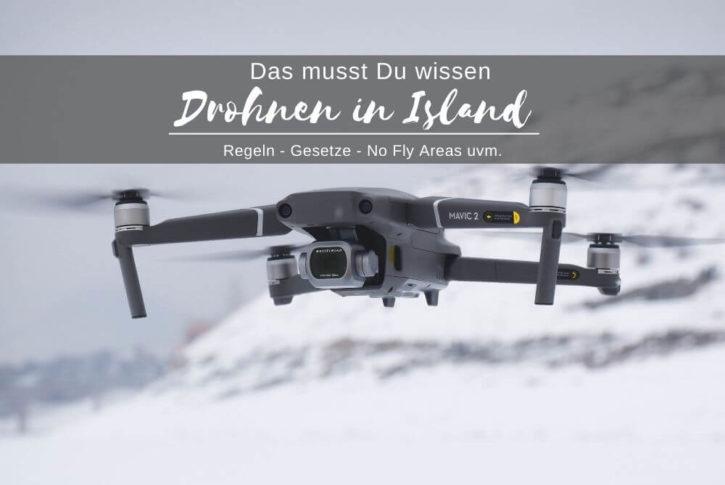Drohnen in Island