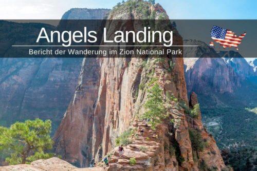 Angels Landing Zion