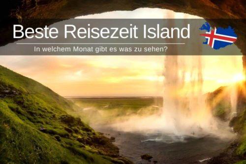 Beste Reisezeit Island