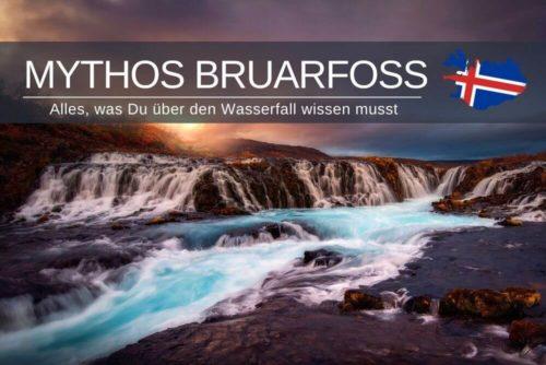 Bruarfoss Island